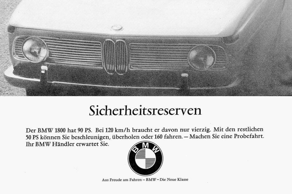 Marken BMW Slogan