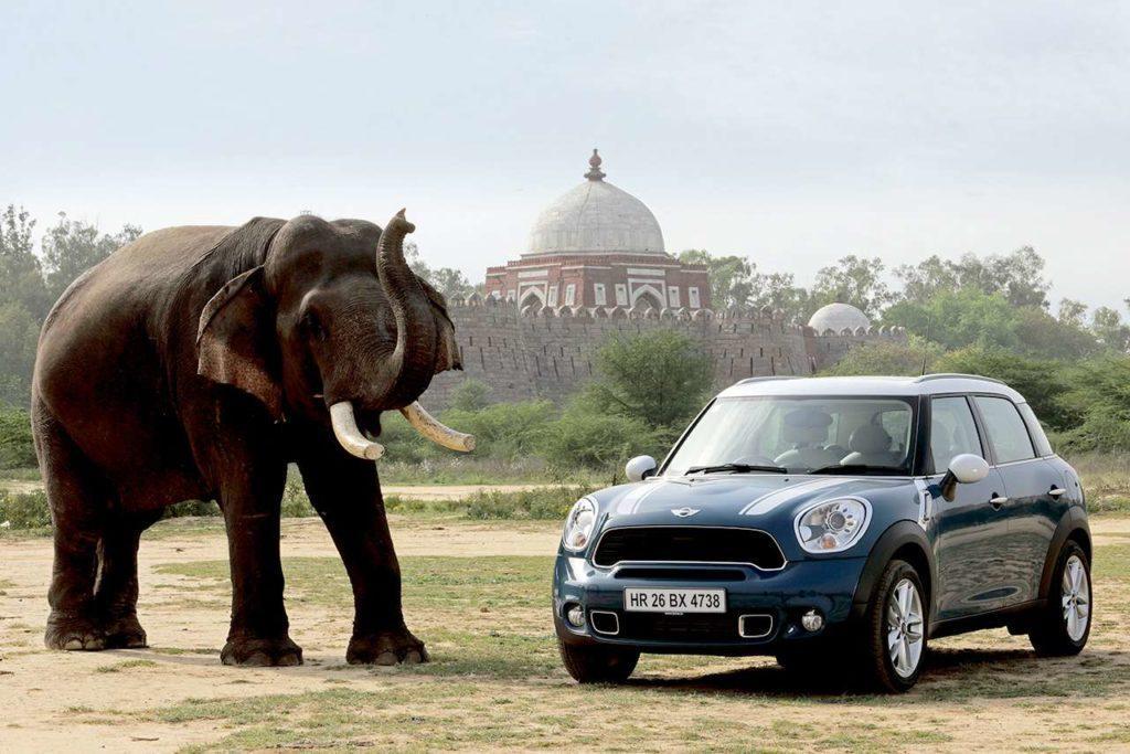 Marken MINI Laender Elefant