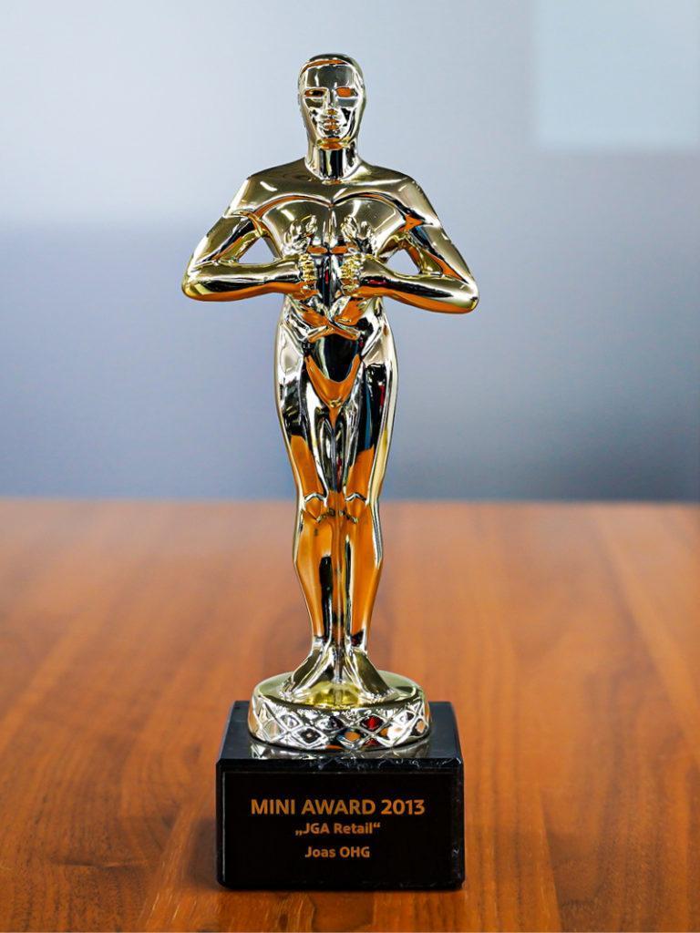 Auszeichnung Mini Award 2013