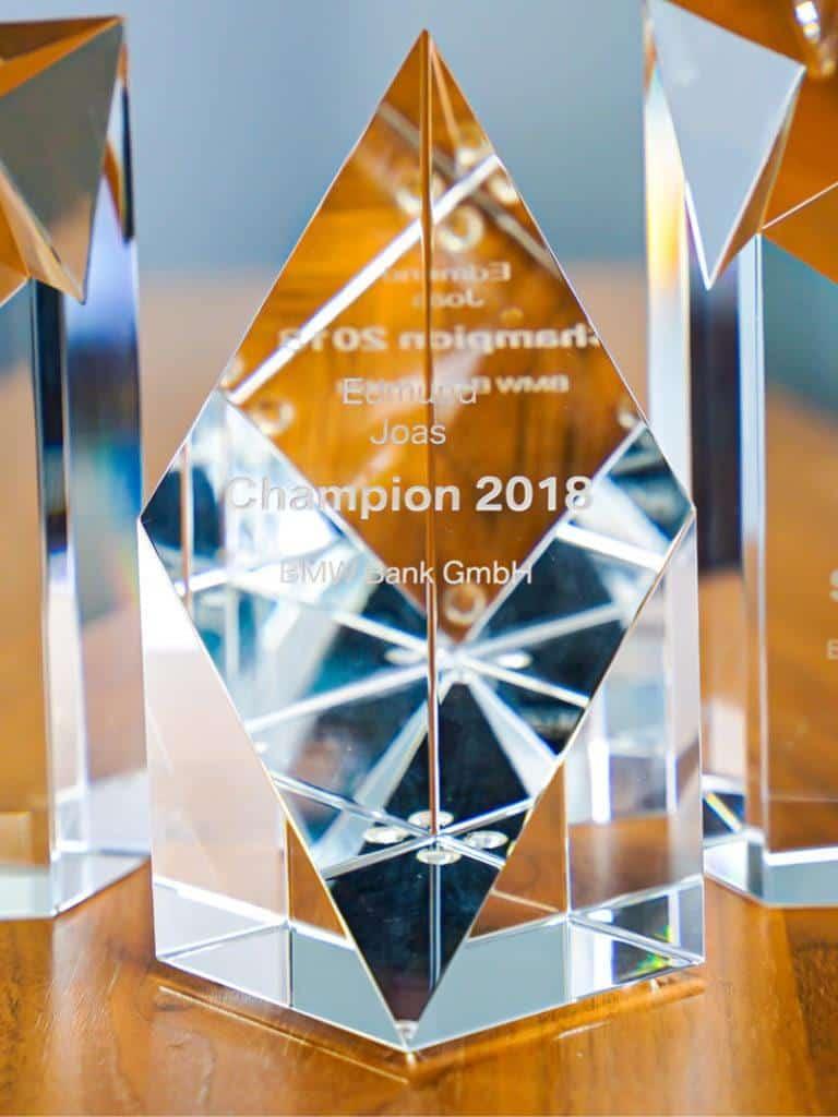 Auszeichnung BMW Champion 2018